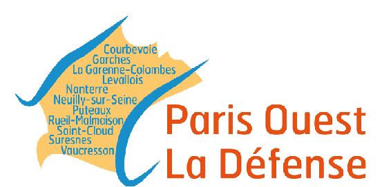 logo paris ouest la défense