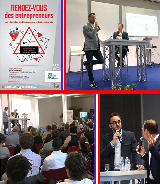 Rendez-vous des Entrepreneurs de Courbevoie 2018