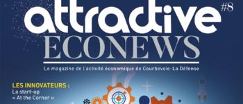 Le magazine Attractive Econews fait peau neuve : nouvelle ère, nouveau format !