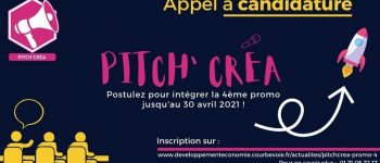 Appel à candidature Pitch'Créa: intégrez la promo 4 !