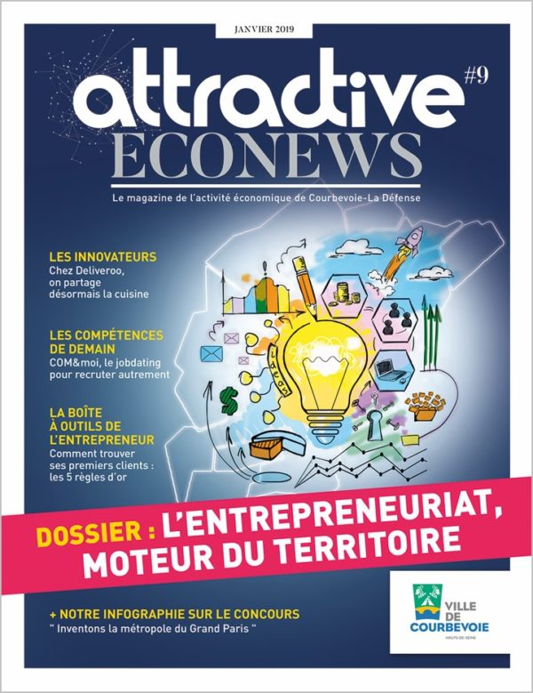 Attractive Econews n°9 Courbevoie