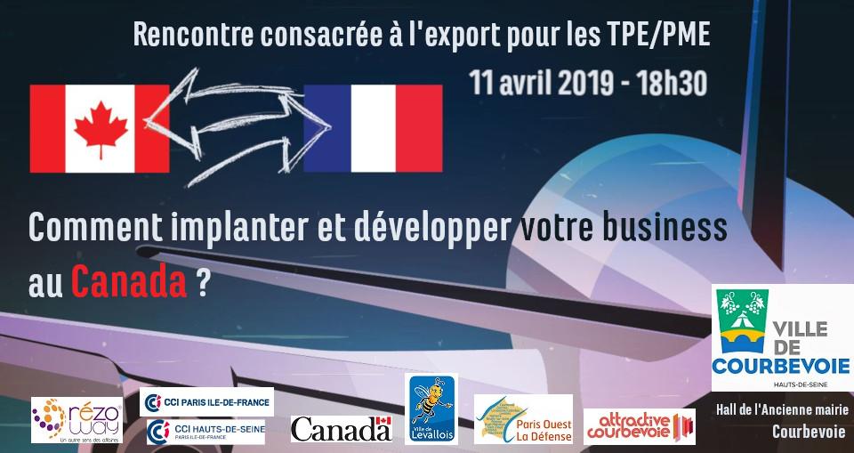Rencontre Export Canada