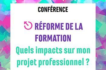 Conférence Réforme de la Formation professionnelle