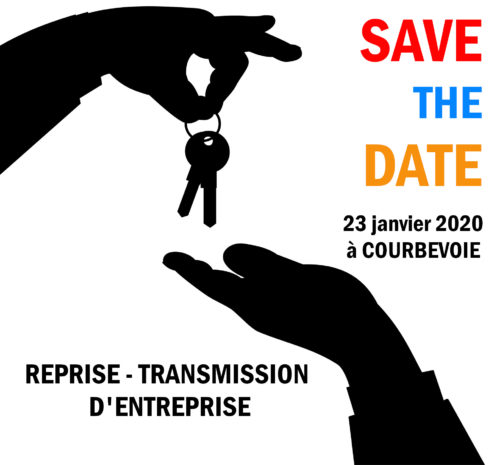 Save the date reprise et transmission d'entreprise