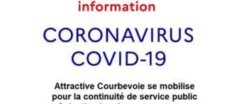 Attractive Courbevoie se mobilise pour la continuité de service public pour les entrepreneurs et les chercheurs d'emploi