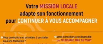 L'antenne de Courbevoie de la Mission Locale Rives de Seine vous accompagne pendant la crise