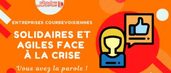 Covid-19 – TPE et PME de Courbevoie : solidaires et agiles face à la crise !