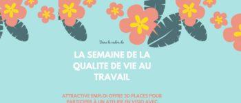 Semaine pour la Qualité de Vie au Travail : Attractive Emploi partenaire d'Einaï pour les entreprises de Courbevoie