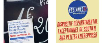 Aides au financement des TPE-PME pour redémarrer après la crise : Fonds résilience Ile-de-France et plan #Relance92