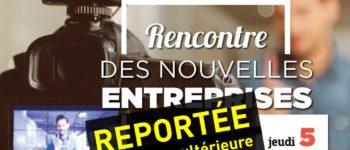 La Rencontre des nouvelles entreprises de Courbevoie 2020 est reportée