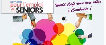 Emploi des seniors : effusion d'idées le temps d'un World Café à Courbevoie
