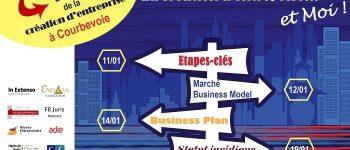 « La création d'entreprise et Moi » : parcours de formation à Courbevoie