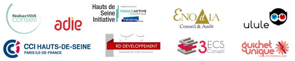 Logos Conférences Création d'entreprise