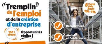 Programme du Tremplin de l'emploi et de la création d'entreprise de Courbevoie 2021