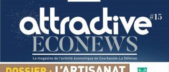 Attractive Econews : L'artisanat, une opportunité pour l'attractivité de Courbevoie ?